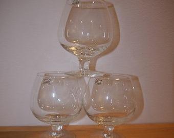 ARABIA - Glass -Ballon - Brandy - Cognac - Finland -