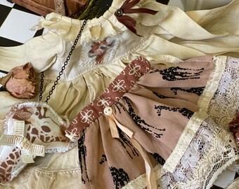 Giraffe - outfit for Blythe doll-Blythe dress