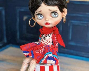 Ooak custom Blythe doll- Betty Boop