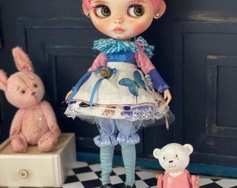 Butterfly- Set of clothes for Blythe dolls- outfit for Blythe doll-
