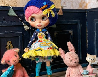 outfit for Blythe doll- clothes Blythe- Blythe dress