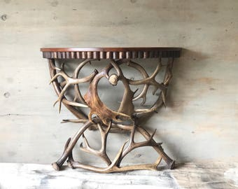 Antler Table - Demi Lune