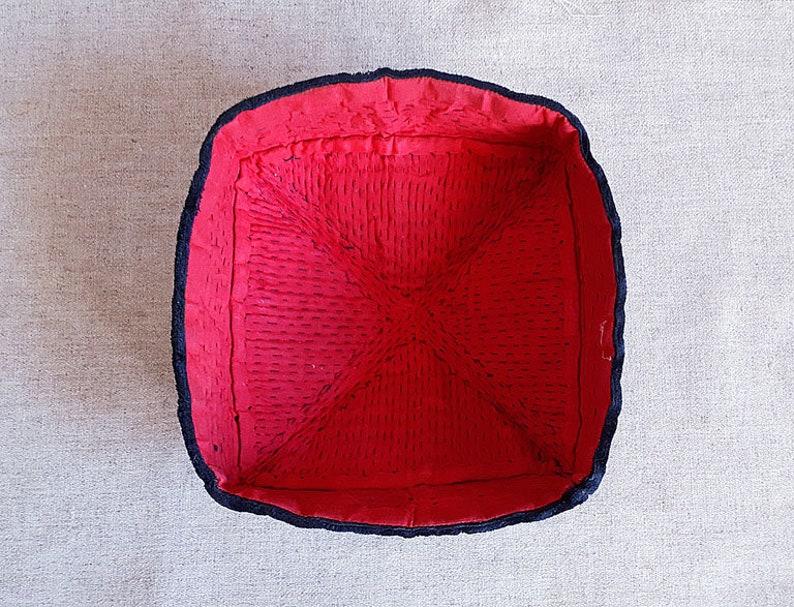 Vintage embroidered skullcap Antique Uzbek hat Unique skullcaps Handembroidery