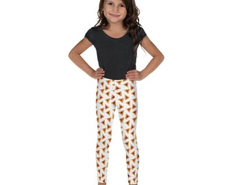 Girl's Purim Leggings Hamentaschen Pants