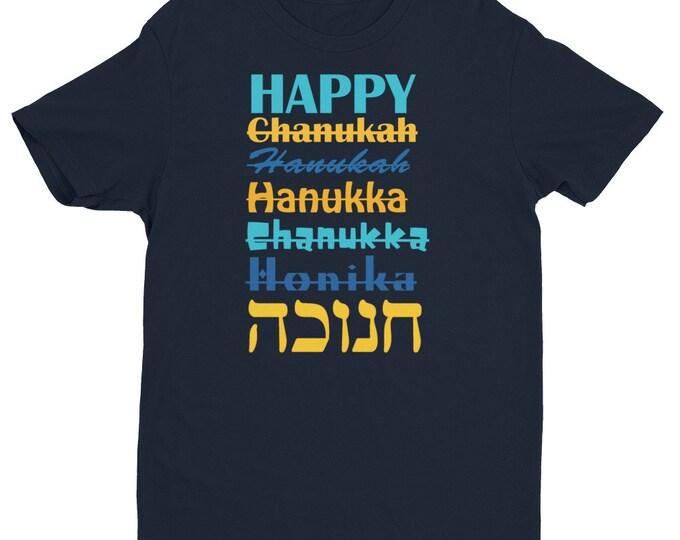 Men's Happy Chanukah Guy's Gift Hanukkah Shirt