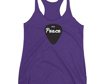 Pick Peace- Women's Racerback Tank