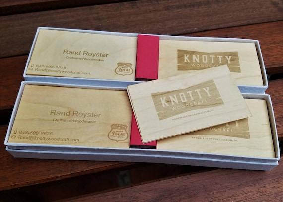Holz Visitenkarten Doppelseitige Visitenkarten Laser Gravierte Visitenkarten Personalisierte Holz Visitenkarten Graviert Holz Visitenkarten
