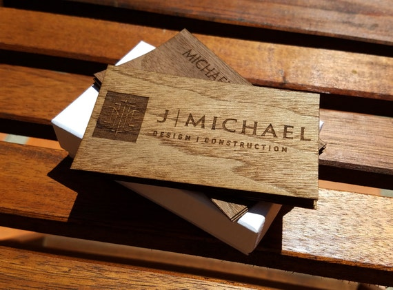 image 0 - Engraved Business Cards