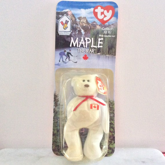 Ty Teenie Beenie Maple The Bear  977fd849dd1