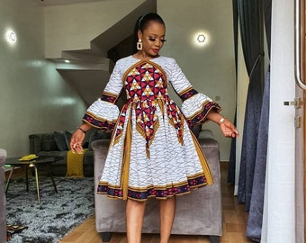 Ankara Dress Etsy