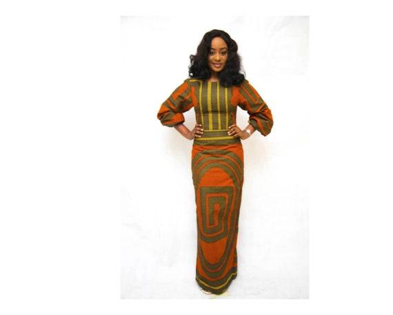 872cc046a0d The DEE dress ankara african print african clothing