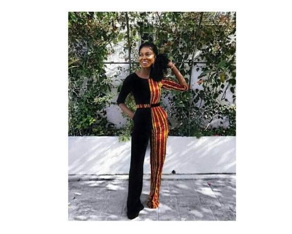 2c61542e69 African print jumpsuit Ankara jumpsuitWomen clothing t
