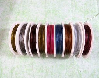 1 Roll Tiger Tail Wire (Shelf 1-6)
