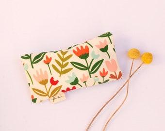 Sunglasses Case | Sunglasses Pouch | Glasses Case | Glasses Pouch | Melbourne Made | Spring Garden Print