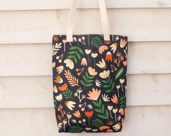 Tote Bag | Tote | Bag | Market Tote | Carry Bag | Digitally Printed Fabric | Melbourne Made | Autumn Garden Print