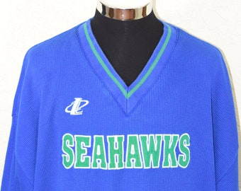 690b38fbbcb Seattle Seahawks Sweatshirt Vintage 90s Mens Crewneck Logo Athletic Starter  XXL