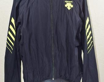 Descente windbreaker jacket Full Zip Vintage 90s running coat og RARE Mens  XL fdf4f61ea