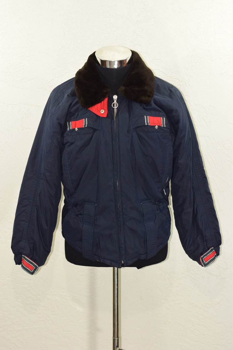 Belfe Belfe ski jacket womens coat Size 40 Medium VIntage  a34916d97