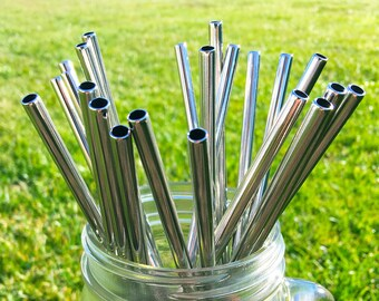Metal straws | Etsy