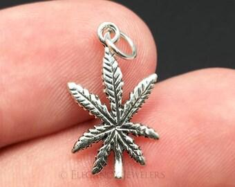 Multi Colors Weed Pot Marijuana Leaf Dread Loc Spiral Coil Bead