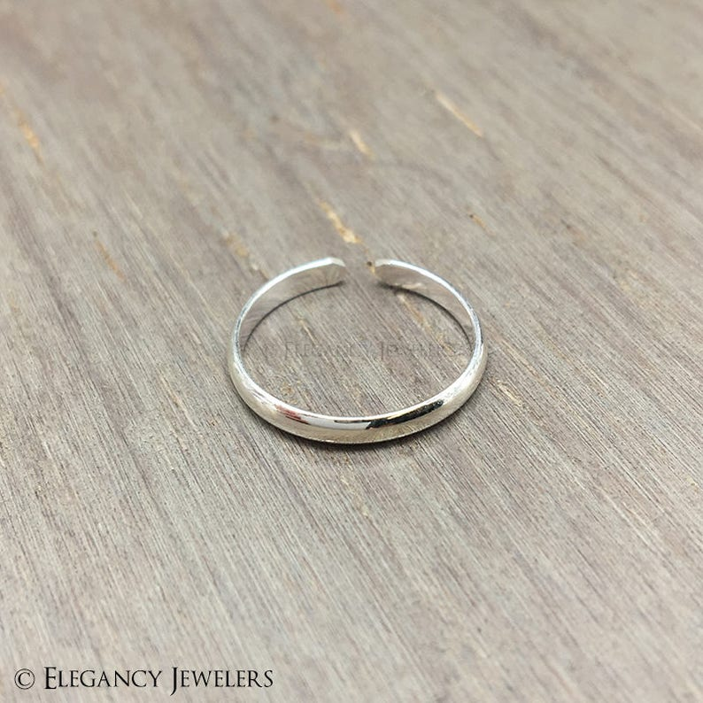 Sterling Silver In Short Supply Brand New ! 925 Adjustable Elephant Toe Ring !