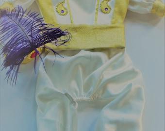 Dog Arabian Prince Costume, Halloween/ Birthday Arabian Prince Outfit, Dog Prince Ali Halloween Costume, Arabian Prince Aladdin Dog Outfit,