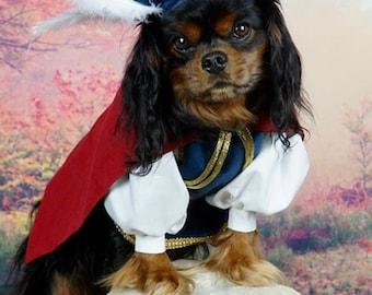 Prince Ferdinand Dog Costume, Snow White Prince Charming Costume, Dog Costume Prince Charming, Pet Prince Charming Costume, Prince Ferdinand