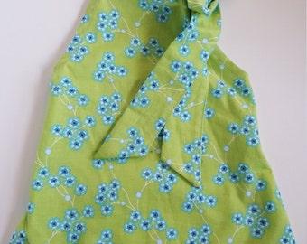 Dog Sleeveless Floral Bowtie Dress, Dog Clothes, Dog Dress, Puppy Clothes, Dog Floral Dress, Pet Summer Clothes,Dog Summer Dress, Pet Dress