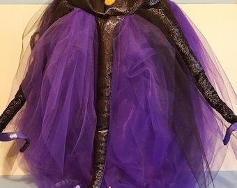 Ursulla Dog Costume, Pet Ursulla Halloween Costume, Ursula The Sea Witch Pet / Dog Costume, Ursulla Puppy Costume Dog / Pet