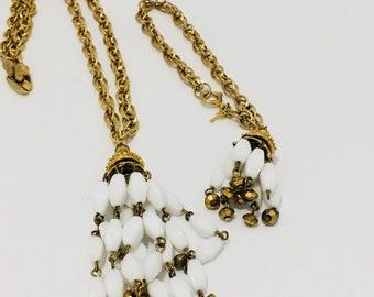Trifari Set Necklace and Bracelet