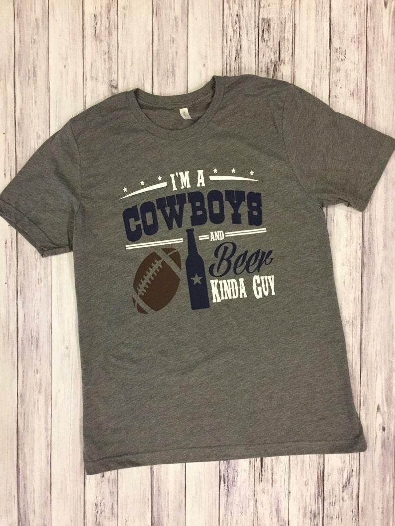 save off 1afcf bb8b4 ... dallas cowboys dallas cowboys tee shirt football and beer etsy ...