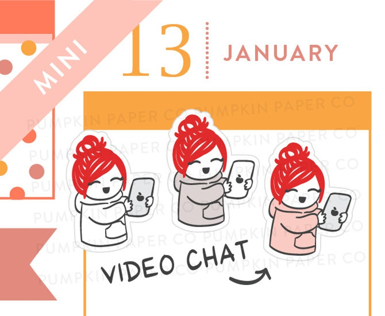 P640  Video chat planner stickers friend stickers marco image 0