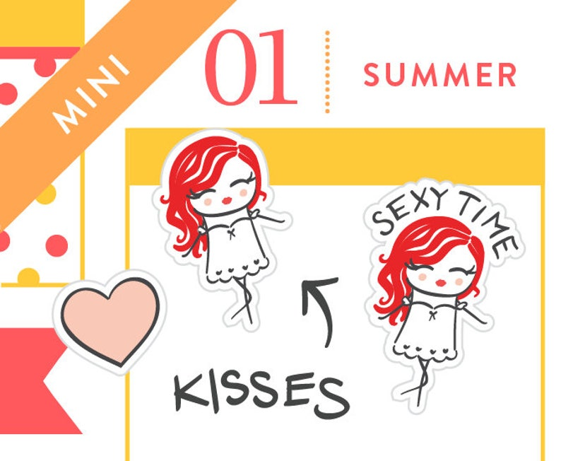 P279  Sexy time stickers kiss stickers love life sex image 0
