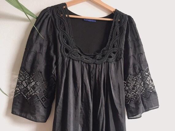 Stunning Lightweight Silk & Cotton Dress