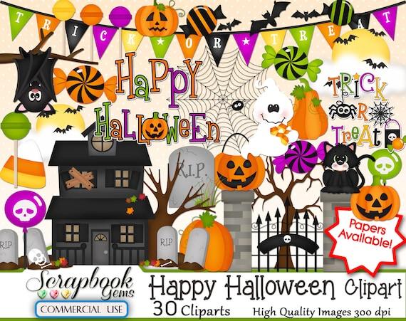 Free Clip Art Of Happy Halloween Clipart 7121 - Transparent Happy Halloween  Clipart - Png Download (#1364546) - PinClipart