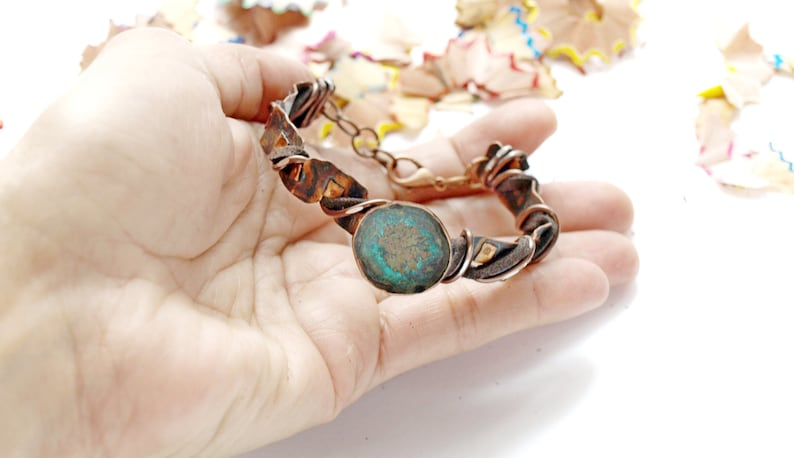 7th anniversary gift for wife Valentines day gift for her unique gifts for adjustable bracelet for women turquoise statement bracelet
