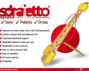 SDRAIETTO - A portable backrest for outdoor & sunbathing lovers