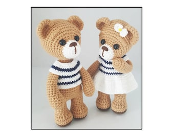 amigurumi bear couple 2