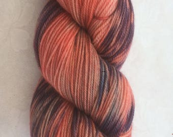 Luxury Hand Dyed Scripture Yarn - 'Joy in the Lord', on a super soft merino, silk, cashmere base, 4ply.