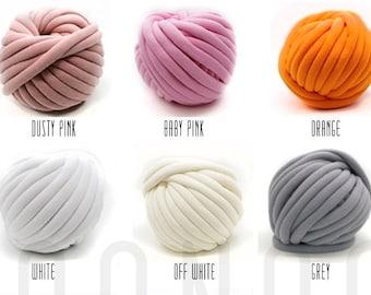 Cotton tube yarn   Etsy