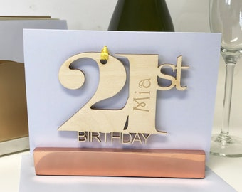 21st Birthday Card For Daughter Cards Son Personalised Keepsake