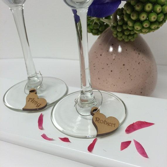 10 Cute Teddy Bear Wine Glass Charms Table Decoration Wedding Birthday Hen Party