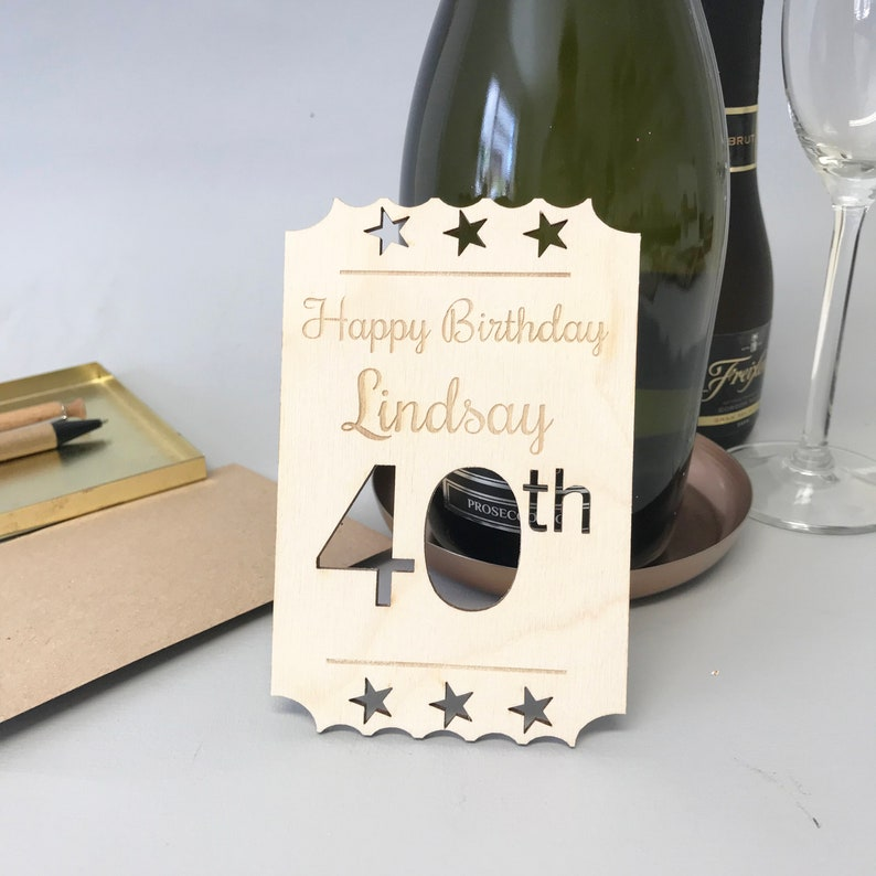 40th Birthday Card For Sons Cards