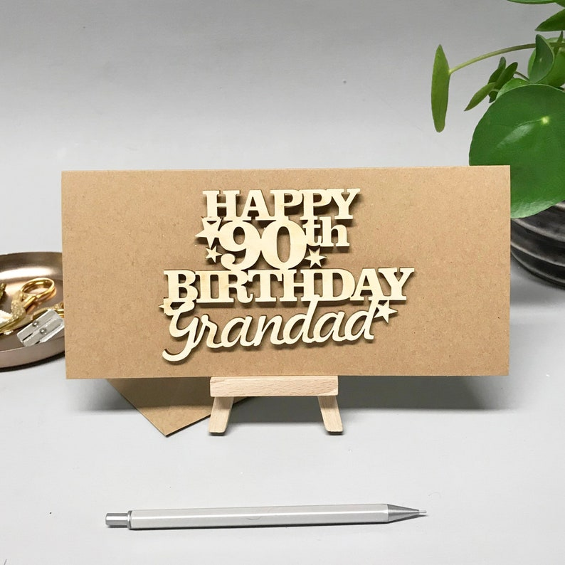 90th Card Special Birthday For Dad Cards