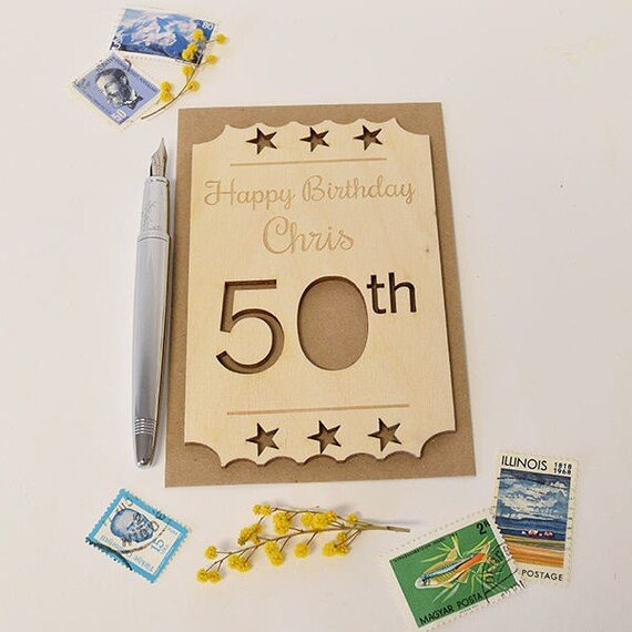 50th Birthday Cards For Birthdays Card
