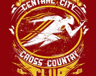 The Flash Barry Allen - Cross Country Club Shirt