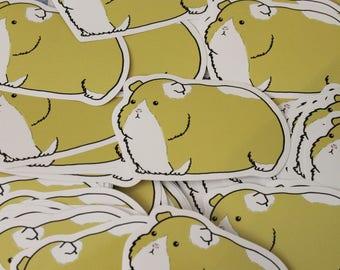 Guinea Pig Vinyl Sticker