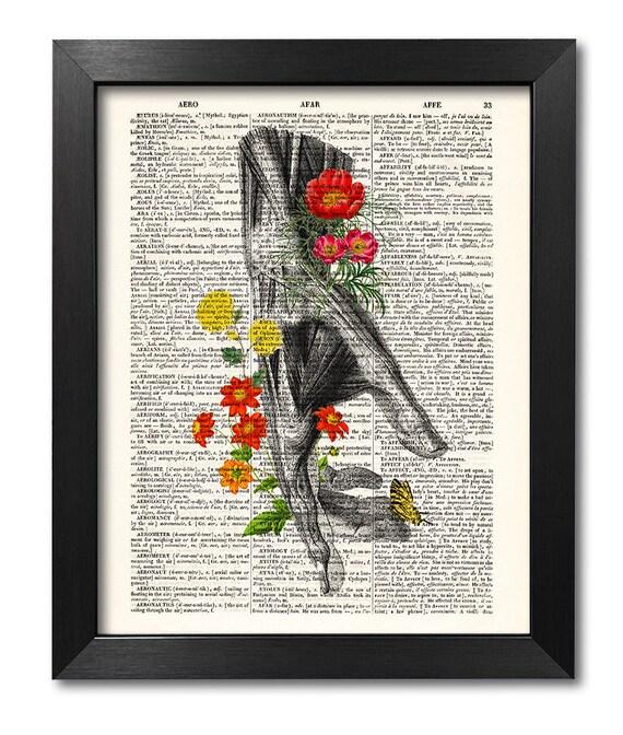 Anatomische Hand und Blumen Anatomie Kunst Blume Anatomie   Etsy