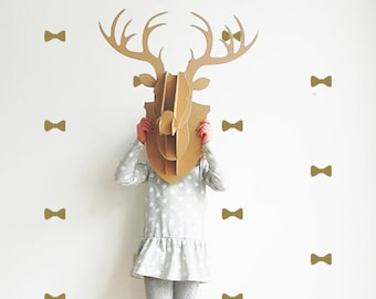 Nursery wall decals - Bow Ties -  Wall decals - Set of 10