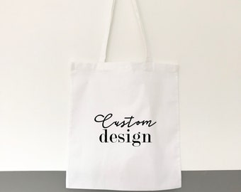 Custom Gift Bags - Tote Bag- Customized Gift Bag - Personalized